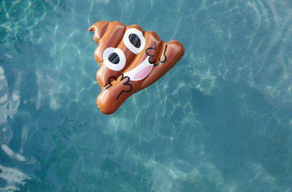Flotteur de piscine, émoticône odeur, 48po Image de l'article