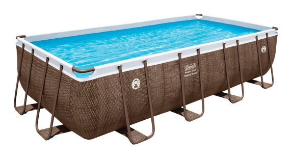 Coleman Rattan Frame Rectangular Pool Product image