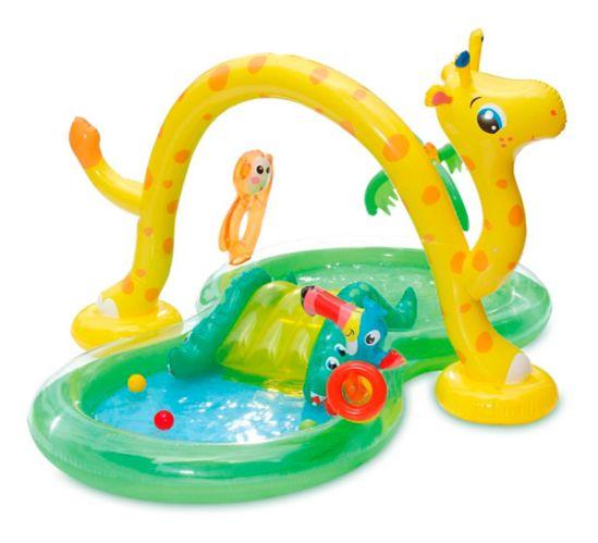 Pataugeoire-centre de jeu gonflable Stella et Finn, jungle Image de l'article
