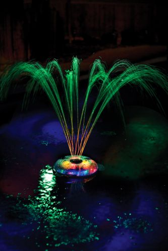 Small Pool Light Fountain