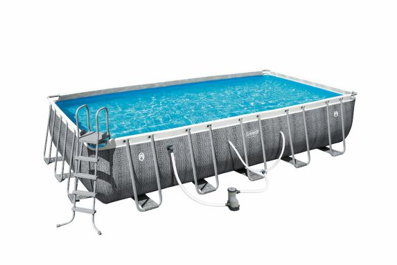 Coleman Rectangular Frame Pool 22 Ft X 12 Ft X 52 In Canadian Tire