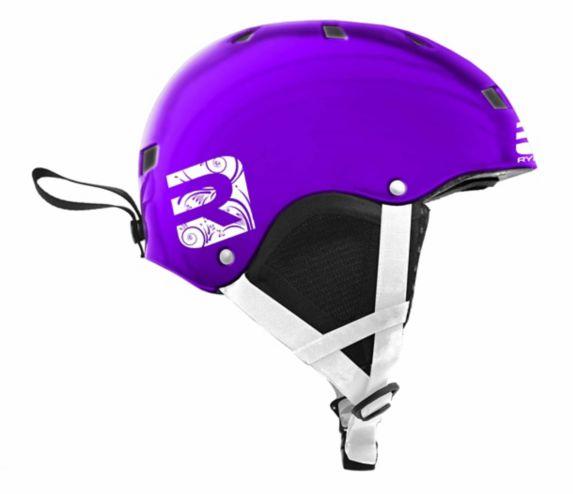 Ryde Chrome Helmet, Youth, Purple