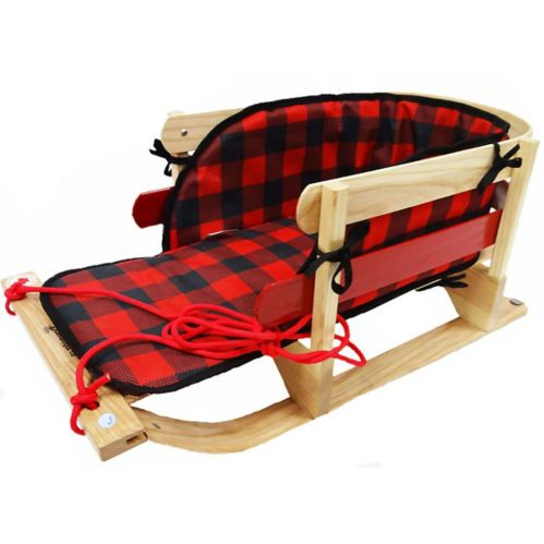 Traditional Baby Sleigh with Pad and Wear Bars