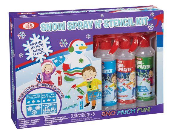 Snow Spray N' Stencil Kit Product image