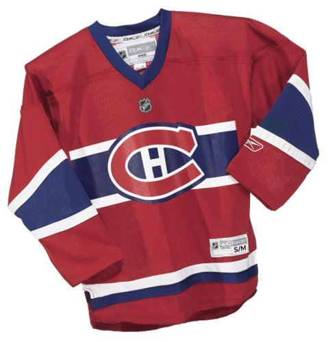 Chandail De Hockey Des Canadiens De Montreal Jeunes Rouge Canadian Tire