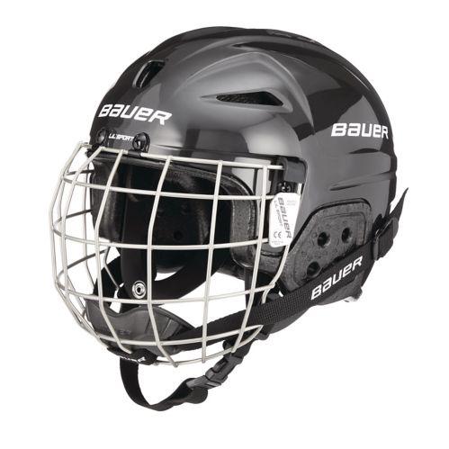Bauer Lil' Sport Hockey Helmet Combo, Youth