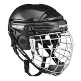 Bauer 2100 Hockey Helmet Combo | Bauer | Bauer 2100 Hockey Helmet Combo features a single density foam liner helmet with facemask Dual-ridge crown with integrated ear covers for maximum protection