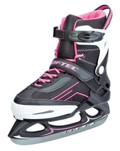 Softec Girl's/Women's Adjustable Recreational Skate, Pink Product image
