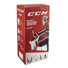 CCM Street Hockey Goalie Pads & Glove Set