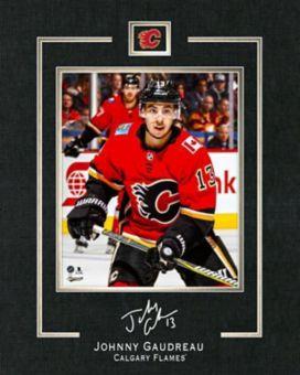 quality design a0470 3e0bd Calgary Flames Johnny Gaudreau Framed Replica Signature, 16 ...