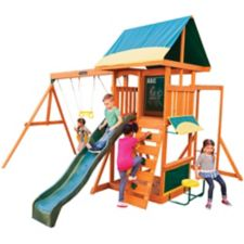Big Backyard Brightside Wooden Play Centre