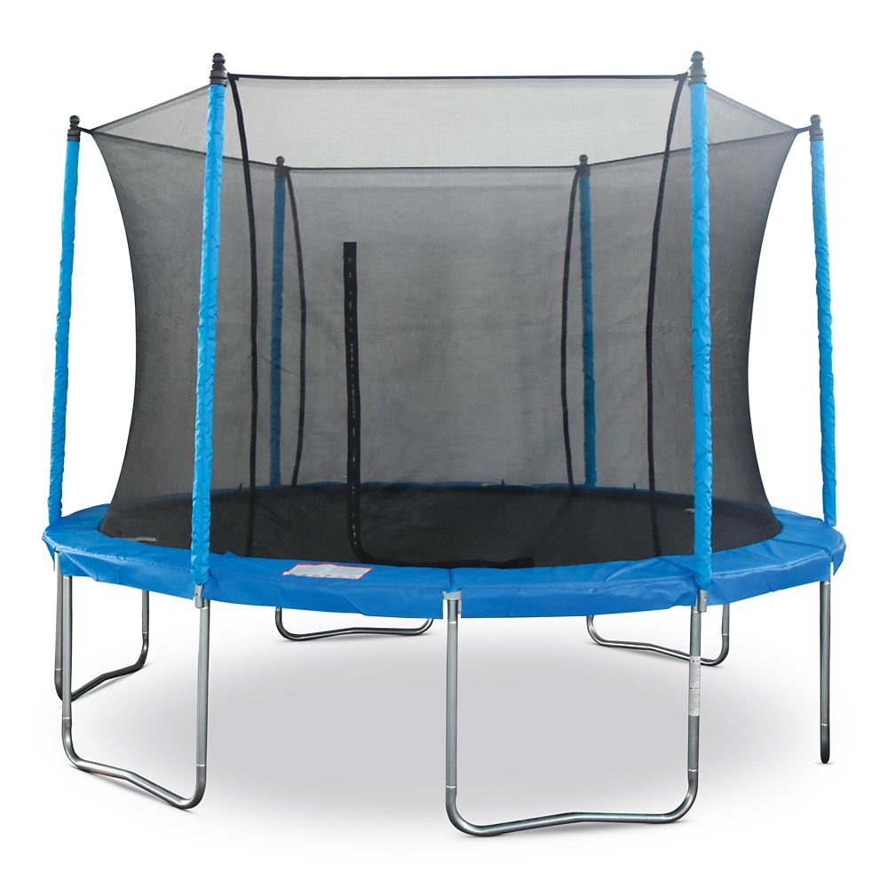 Jumptek Trampoline with Safety Enclosure, 12-ft
