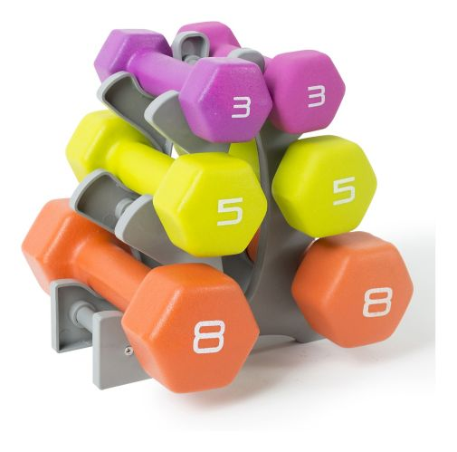 CAP Neoprene Dumbbell Weight Set with Case, 32-lb Product image