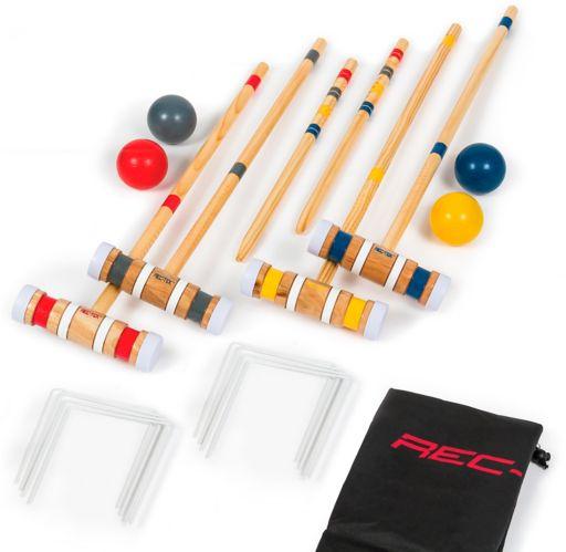 Eastpoint Good 4-Player Croquet Set