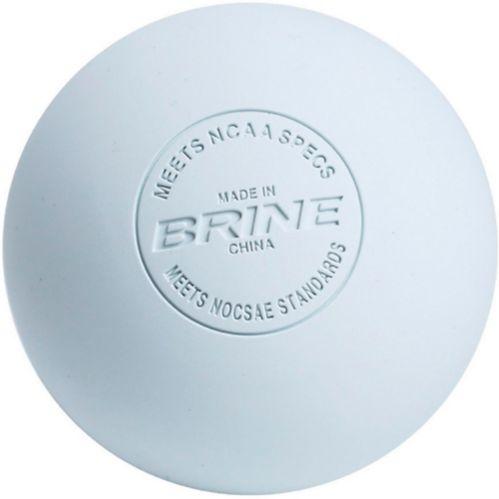 Brine Lacrosse Ball, White Product image