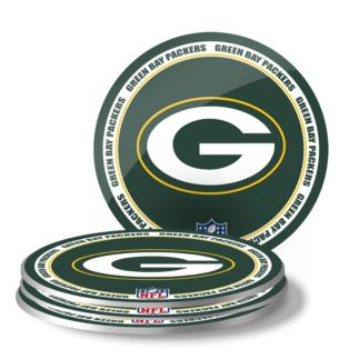 Green Bay Packers Coaster Set 4 Pack