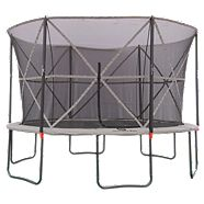 Outbound Oval Trampoline with Safety Enclosure, 13-ft