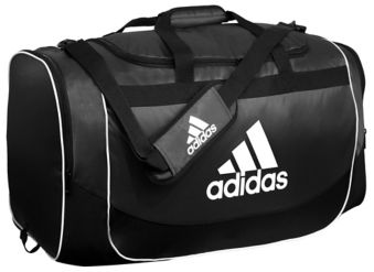 aecfe10d Adidas Defender Duffle Bag, Black