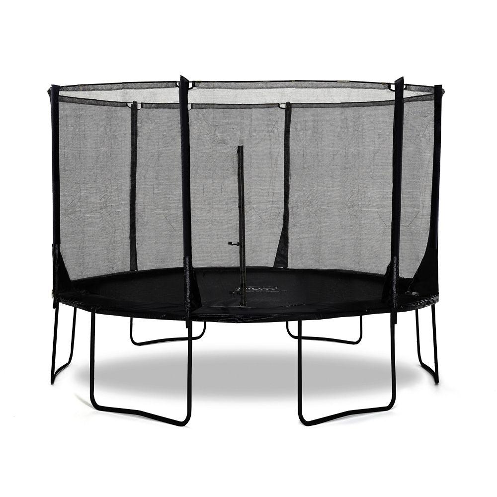 Plum Space Zone Evolution Trampoline & Enclosure, 12-ft