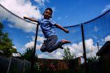Plum® Space Zone II Evolution Springsafe® Trampoline & Enclosure, 12-ft | Plumnull