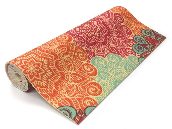 Renew Yoga Mat, Mandala, 4-mm Product image