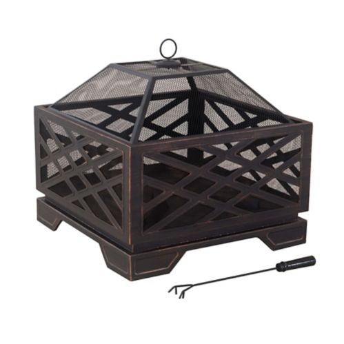 For Living Lawrence Fire Pit