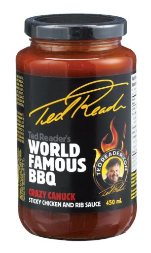 Ted Reader's World Famous BBQ Sauce, Sticky Chicken and Rib Product image