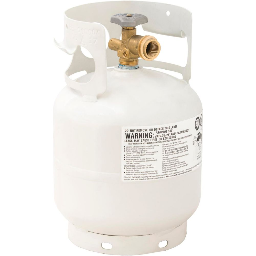 Flame King OPD Barbecue Propane Tank, 5-lb