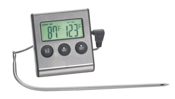 MASTER Chef Stainless Steel Digital BBQ Thermometer Product image