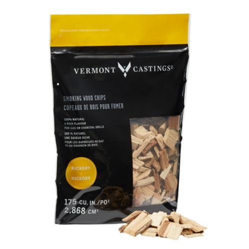 Vermont Castings Smoking Wood Chips, Hickory Flavour, 2-lb Product image