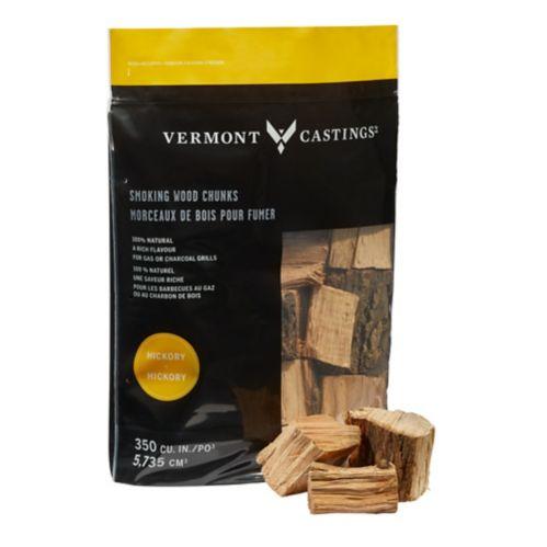 Morceaux de bois Vermont Castings, saveur de hickory, 4 lb