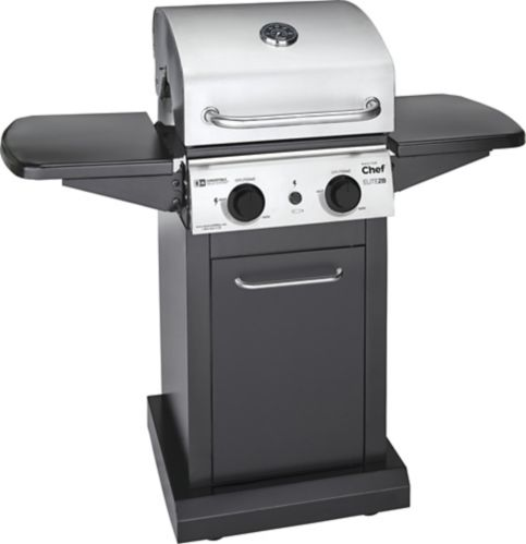 MASTER Chef Elite 2-Burner Convertible Propane BBQ Product image