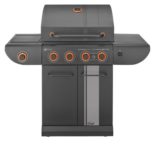 MASTER Chef 5-Burner Grill Turismo Convertible Propane BBQ Product image