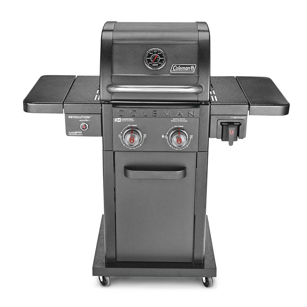 Coleman Revolution 2-Burner Convertible Propane BBQ