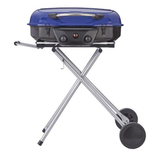 Barbecue portatif de style chariot MASTER Chef, 2 brûleurs Image de l'article
