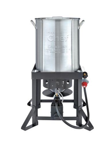 Friteuse à dinde en aluminium MASTER Chef, 30 pintes Image de l'article