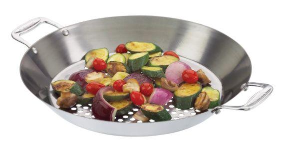 Wok en inox Cuisinart pour barbecue Image de l'article