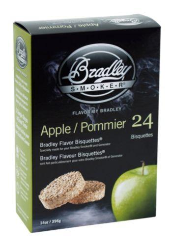 Briquettes pour fumoir Bradley, pommier, paq. 24 Image de l'article