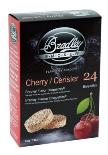 Briquettes pour fumoir Bradley, cerisier, paq. 24 Image de l'article