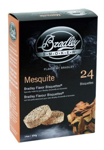 Bradley Smoker Mesquite Bisquettes, 24-pk Product image