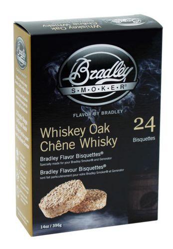 Briquettes pour fumoir Bradley, paq. 24, chêne whisky Image de l'article