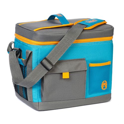Sport High Performance Soft Cooler, Blue/Grey/Yellow, 12-Can Product image