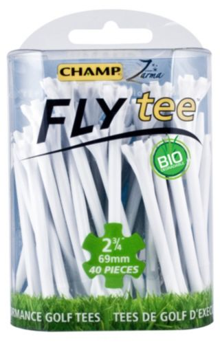 Champ Ez Fly Golf Tees, 2-3/40-in, Multi-Colour, 30-pk Product image