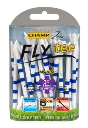 Tés Champ EZ Fly, 3 1/4 po, bleu et blanc, paq. 25 Image de l'article
