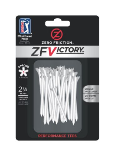 Zero Friction 5-Prong Golf Tees, 2-3/4-in, 40-pk Product image