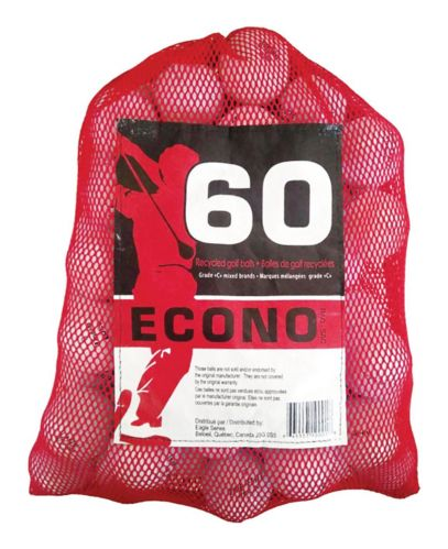 Econo Recycled Golf Balls, 60-pk Product image