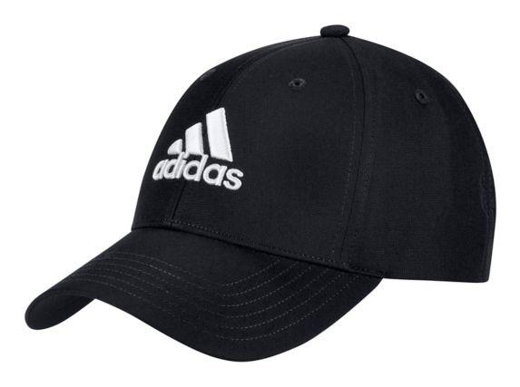 Casquette Adidas pour golfeur en tissu de performance, noir Image de l'article