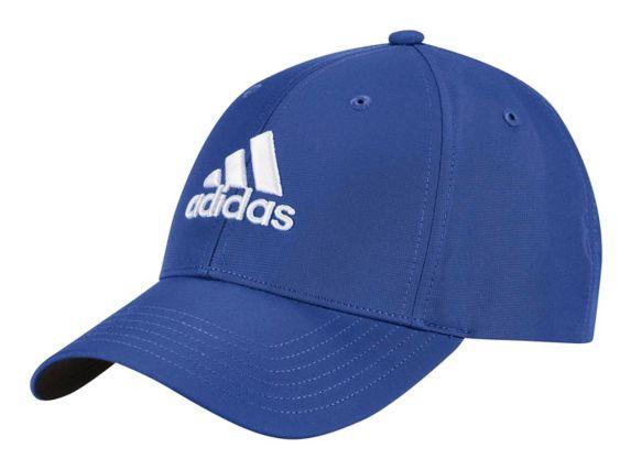 Casquette Adidas pour golfeur en tissu de performance, bleu Image de l'article