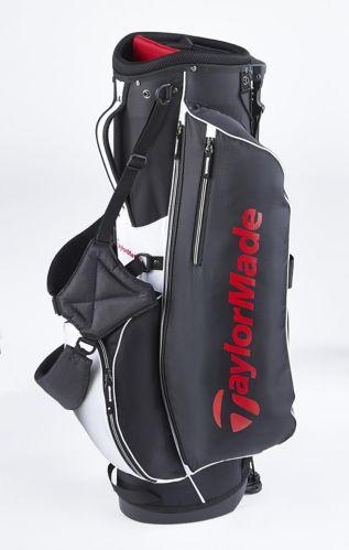 Sac de golf à support TaylorMade 5.0, noir/rouge/blanc Image de l'article