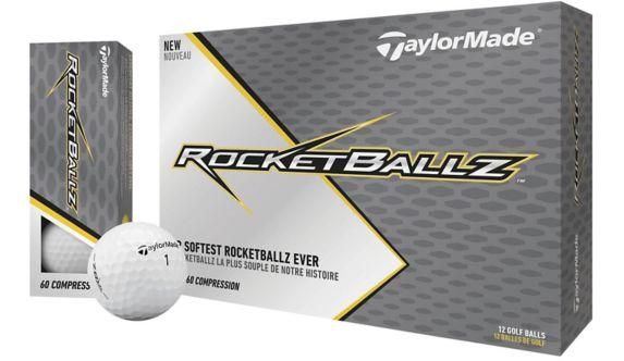 TaylorMade Rocketballz Soft Golf Balls, White, 12-pk Product image